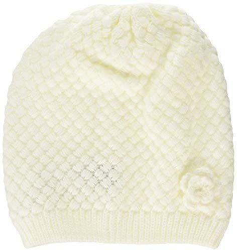 Chicco Cappello a Cuffia Bonny Cappellino, Bianco (Naturale 030), S (Taglia Produttore:002) Bimba