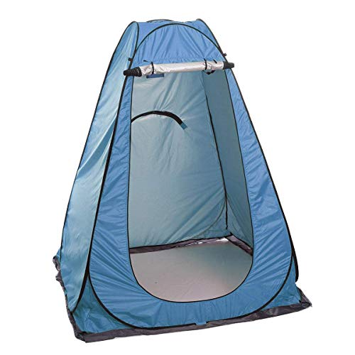 Kids Tent,Outdoor travel tent family camping tent, ultralight folding outdoor camping tent shower tent rainproof (Color : Orange) fashion