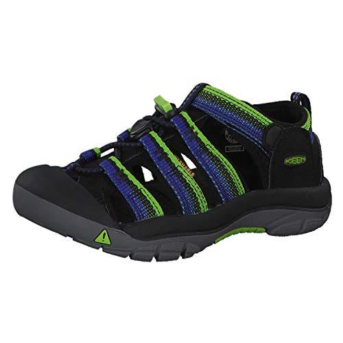 KEEN Unisex-Kinder Newport H2 Aqua Schuhe, Schwarz (Racer Black 1014247), 24 EU