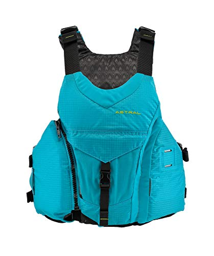 Astral Women's Layla Life Jacket PFD for Whitewater, Sea, Touring Kayaking, Stand Up Paddle Boarding, and Fishing, Glacier Blue, XS