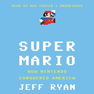 Super Mario audiobook cover art
