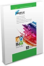 USI WrapSure Thermal (Hot) Laminating Pouches/Sheets, Menu Size, 3 Mil Thick, 12 x 18 Inches, Clear Gloss, 100-Pack