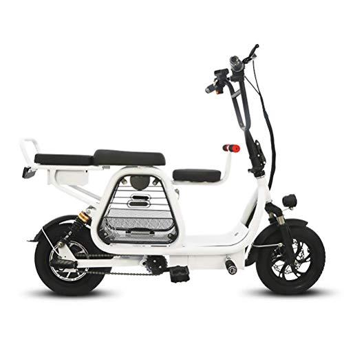 ZGYQGOO Bicis eléctricas Adultos Mujeres Hombres 350w Bicicletas eléctricas Plegables para Adultos...