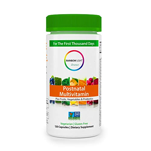 Rainbow Light Vibrance Postnatal Multivitamin – 120 Count