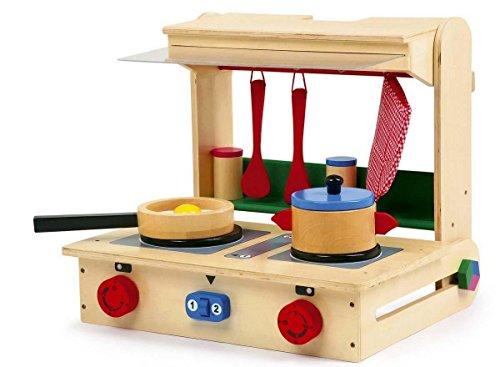 Valise-cuisine enfant Pro bois