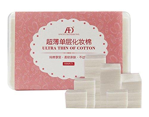 1000pcs coussinets en coton blanc pour maquillage