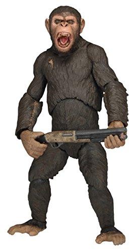 Dawn Of The Planet Of The Apes 29036 17,8 cm série 2 César avec Fusil de Chasse Figure