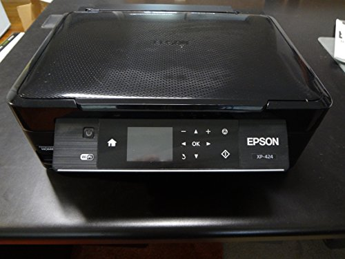 Epson Expression Home XP-424 Wireless Color Photo Printer with Scanner, Copier - Black