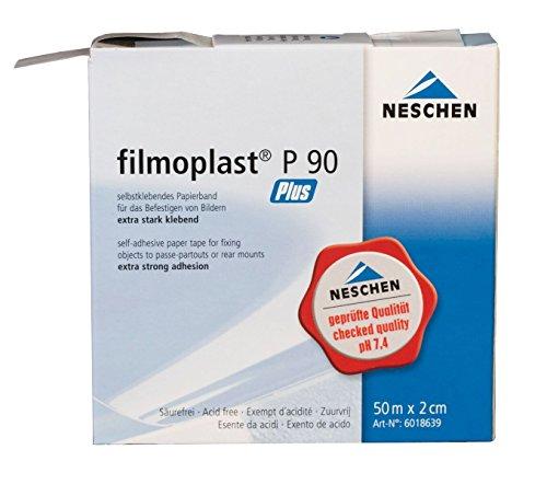 FILMOPLAST P90 PLUS dünnen weißen säurefreies Papier D &Reparaturband M