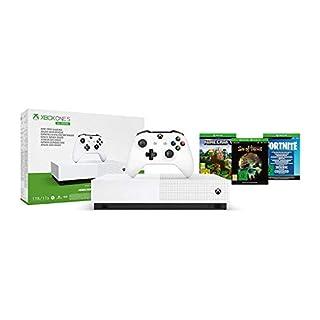 Microsoft - Xbox One S 1 TB All-Digital Edition, Fortnite (juego digital), Sea of Thieves (juego digital), Minecraft (juego digital) (B07XVMKV6G) | Amazon price tracker / tracking, Amazon price history charts, Amazon price watches, Amazon price drop alerts