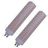 FOMT Bombillas LED De Maíz Bombilla De Maíz Gu6.5 De 15W 1500Lm 300 Vatios Equivalente A 5000K Led En Lugar De Lámpara De Halogenuros Metálicos De 70-100W Adecuada para Garaje Etc,Cool White,15w