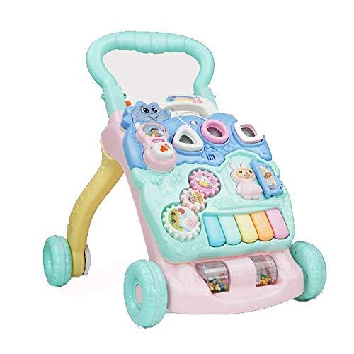 ZGZRXGY Juguetes Musicales de bebé de Velocidad Ajustable con Control Remoto, Panel...