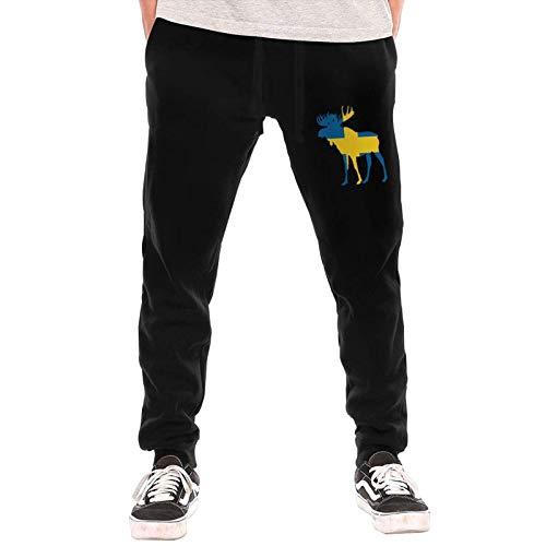 Axige888 Suecia Moose Mans Moda Pantalones Largos Pantalones Deportivos Invierno Al Aire Libre