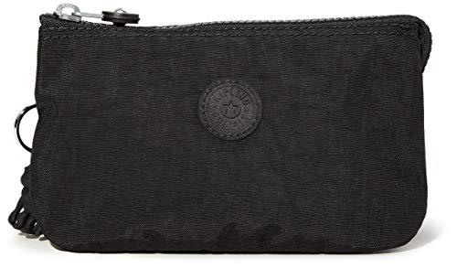 Kipling Creativity L, Pouches/Cases para Mujer, Black Noir, 4x18.5x11 Centimeters (Lxwxh)