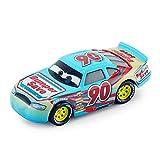 Pixar Cars 3 Rayo Mcqueen Jackson tormenta Mater 1:55 Diecast Metal de aleación Modelo de Coche de Juguete Niños Niños ( Color : Bumper Save )