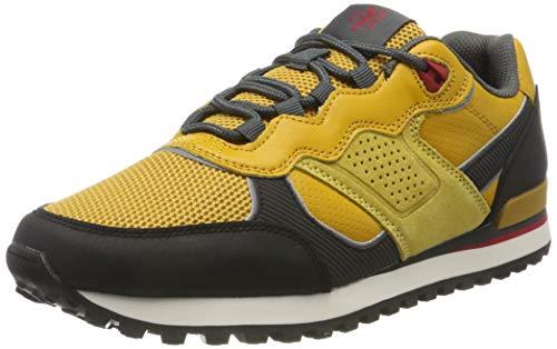 Marc O'Polo Herren 90824363501103 Sneaker, Gelb (Curry 263), 40 EU