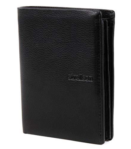 Strellson Carter BillFold V15 4010001187 Herren Geldbörsen 12x10x1 cm (B x H x T), Schwarz (black 900)
