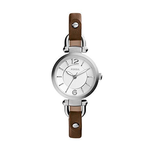 Fossil Reloj analogico para Mujer de Cuarzo con Correa en Piel ES3861