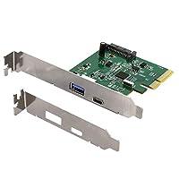 オウルテック インターフェースボード USB Type-A/Type-C 増設 USB3.1 Gen2 ASMedia ASM2142チップ採用 1年保証 ブラック OWL-PCEXU31C1