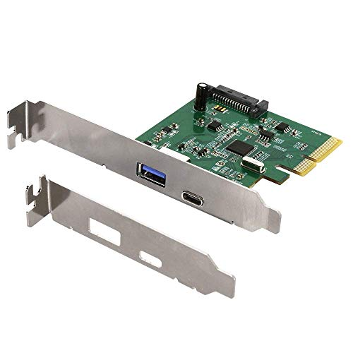 オウルテック インターフェースボード USB Type-A/Type-C 増設 USB3.1 Gen2 ASMedia ASM2142チップ採用 1年...