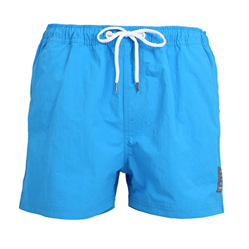 Ceceba Badeshorts Kurz Short de Bain, Bleu (Blue-Light-Solid 610), XX-Large Homme