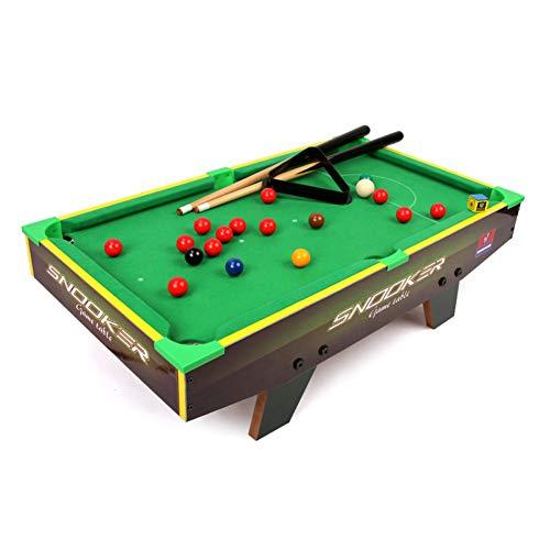 softneco Kleine Größe Billardtisch Für Kinder,Mini Tischbillard Spiel Für Familienunterhaltung,Billard Tisch Set Mit Ball Und Sticks A 70x38x20cm(28x15x8inch)