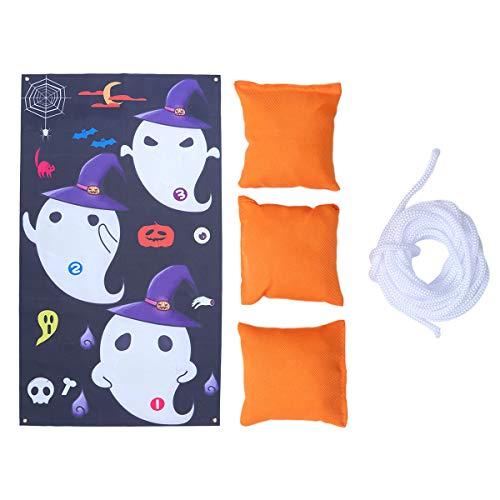 Abaodam 1 Set of Hanging Pendant Sandbags Throwing Banners Halloween Children' Outdoor Games for Kids Children Garden