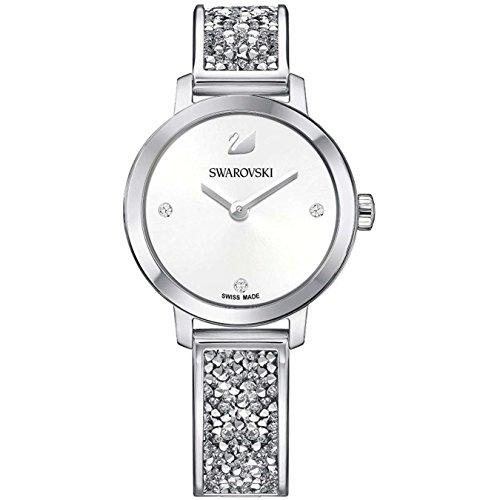 Swarovski Damen-Uhren Analog Quarz One Size Edelstahl 87434478
