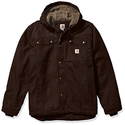 Carhartt Herren Bartlett Jacket Arbeitsoberkleidung, Dunkelbraun, S