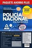 Paquete Ahorro PLUS Escala Básica Policía Nacional 2020. Ahorra 162 € (Temarios 1, 2 y 3; Test 1 y 2; Simulacros 1, 2 y 3; Ejercicios psicotécnicos, ... de ortografía; y acceso gratis a Curso Oro)