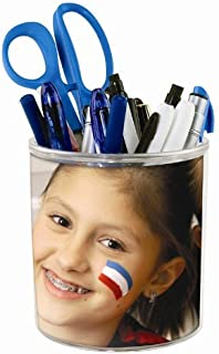 Create Your Own Pencil Cup - Photo DIY Desktop Organizer