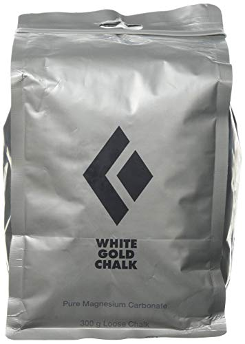 Black Diamond Unisex Adult White Gold Loose Chalk, Powder, 300 Gr