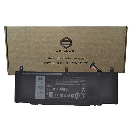 JIAZIJIA TDW5P Laptop Battery Compatible with Dell Alienware 13 R3 13 ALW13C Series Notebook Black 15.2V 76Wh 4840mAh 4-Cell