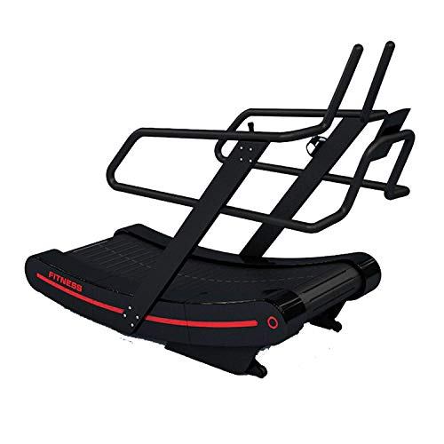 Curved Mechanical Treadmill Commercial Grade