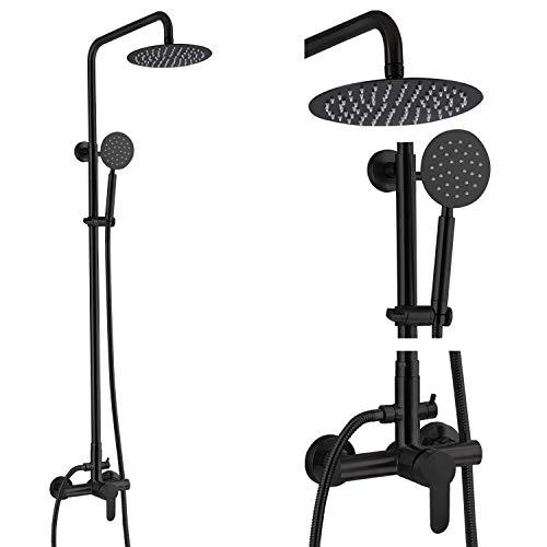 Aolemi Outdoor Shower Faucet Matte Black SUS304...