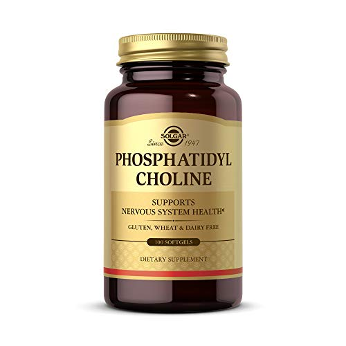 Solgar Phosphatidylcholin 420mg Bioaktives Cholin Lecithin - 100 Weichkapseln