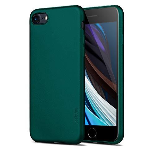 X-level iPhone SE 2020 Hülle, iPhone 8 Hülle, iPhone 7 Hülle, Soft Flex TPU Hülle Superdünn Handyhülle Silikon Bumper Cover Schutz Tasche Schale Schutzhülle für iPhone 7/8/ SE (2020) - Grün