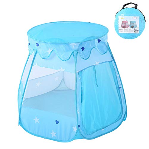 MXYPF Princess Castle Tent for Girls, Pop Up Play Tents Portable Playhouse with Carrying Case, Toys Gift for Kids Toddler for Indoor or Outdoor