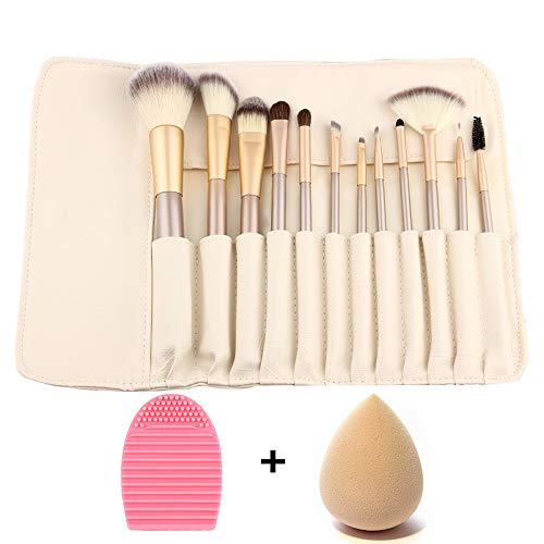 ZOCONE Pennelli Trucco Pennelli Make Up Set, 12 PCS Set Pennelli...