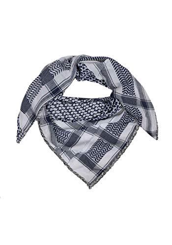 Tweeling hart driehoekig sjaal - sjaal - Ibiza - blauw - froginlove