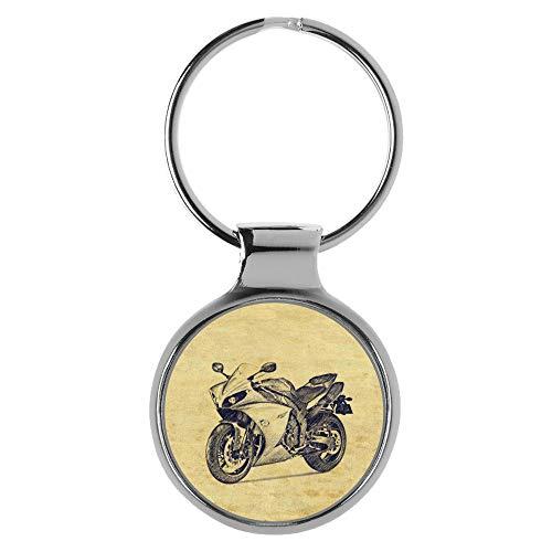 KIESENBERG Schlüsselanhänger Geschenke für Yamaha YZF-R1 Motorrad Fan A-20416