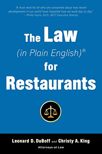 The Law (in Plain English) for Restaurants (English Edition)