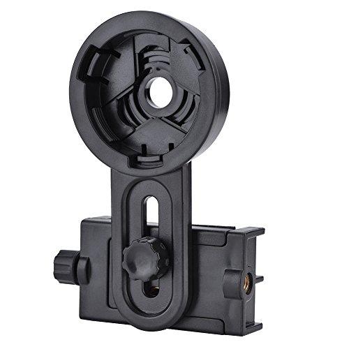 PUSOKEI Soporte para Adaptador para Smartphone 54,6-97,9 mm Soporte para Adaptador para teléfono móvil 26,4-46,4 mm Soporte para Adaptador para Ocular para microscopio telescopio monocular Binocular