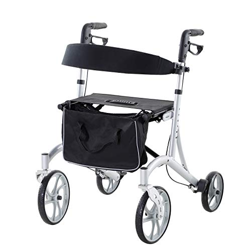 HOMCOM Lightweight Aluminum Portable Skidproof PVC Carpeted Folding Wheelchair Ramp, 2'
