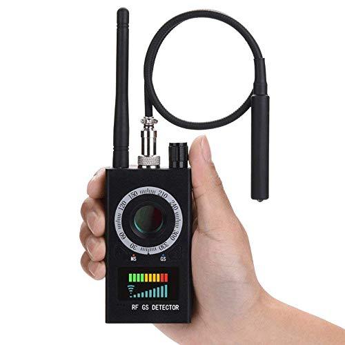 K18 Detektor üBerwachungskameras,Anti-Spy RF Signal Radio Wave,Anti-Spy Versteckte Kamera,Detektor Funk FüR Elektromagnetische Strahlung,Zum AufspüRen signale,Detektor Kamera Finder,Schwarz