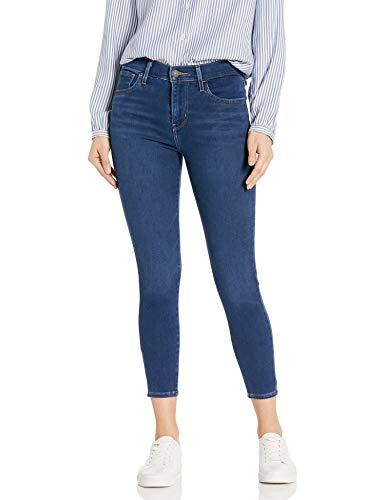 Levi's Women's 720 Hise Rise Super Skinny Crop Jeans, Rumba High, 27 (US 4)