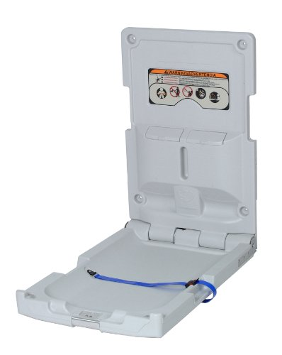 Continental 8252-V, White Vertical Baby Changing Station (Case of 1)