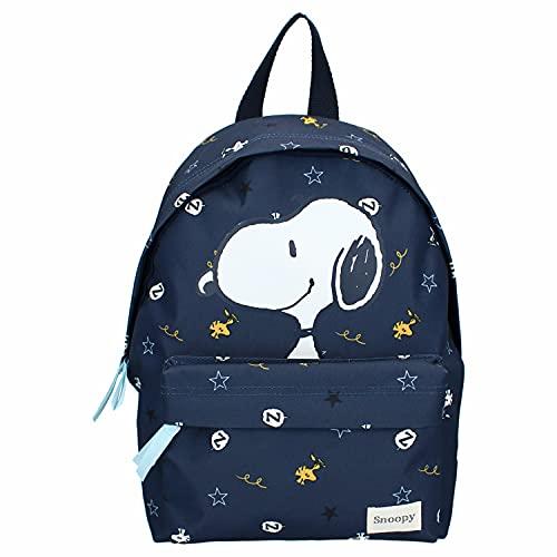 Snoopy We Meet Again - Mochila con la impresión de tu héroe favorito, ideal para el joven aventurero