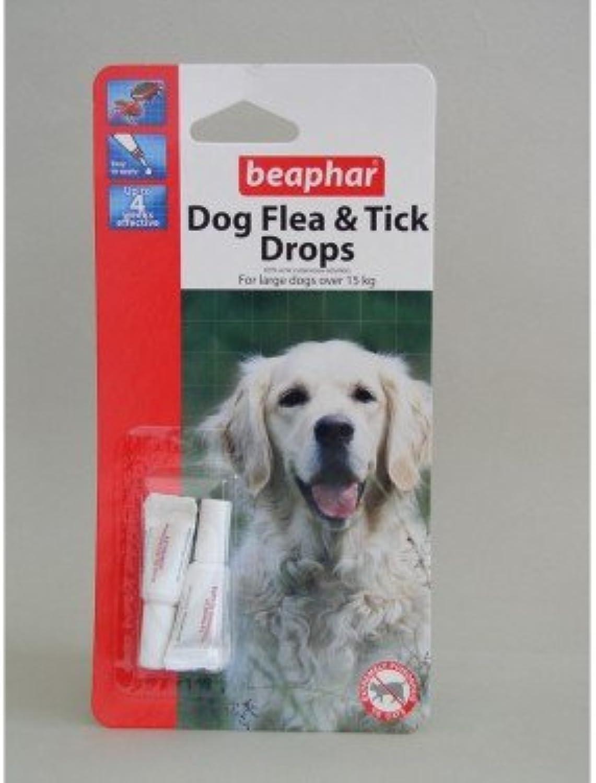 Beaphar Dog Flea Drops 4 Week Large Dog x 12