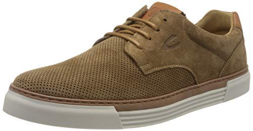 Camel active Herren Racket Sneaker, Mehrfarbig (mud/nature 03), 39 EU (6 UK)